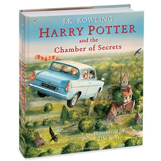 Harry Potter and the Chamber of Secrets (Illustrated Ed)