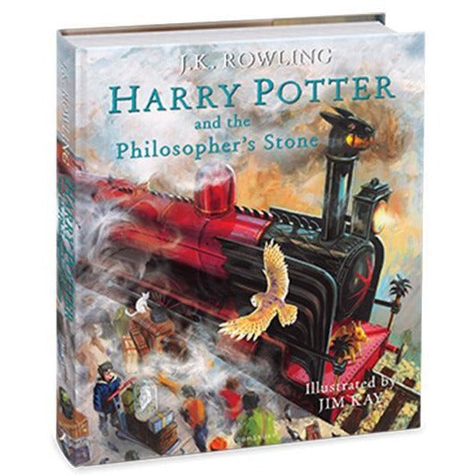 Harry Potter and the Philosophers Stone (Illustrated Ed)