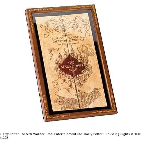 Marauders Map Display Case