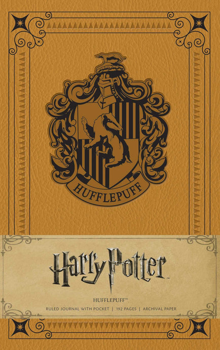 Hufflepuff A5 Ruled Journal