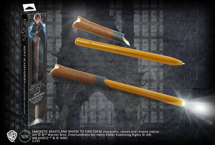 Newt Scamander Illuminating Wand Pen