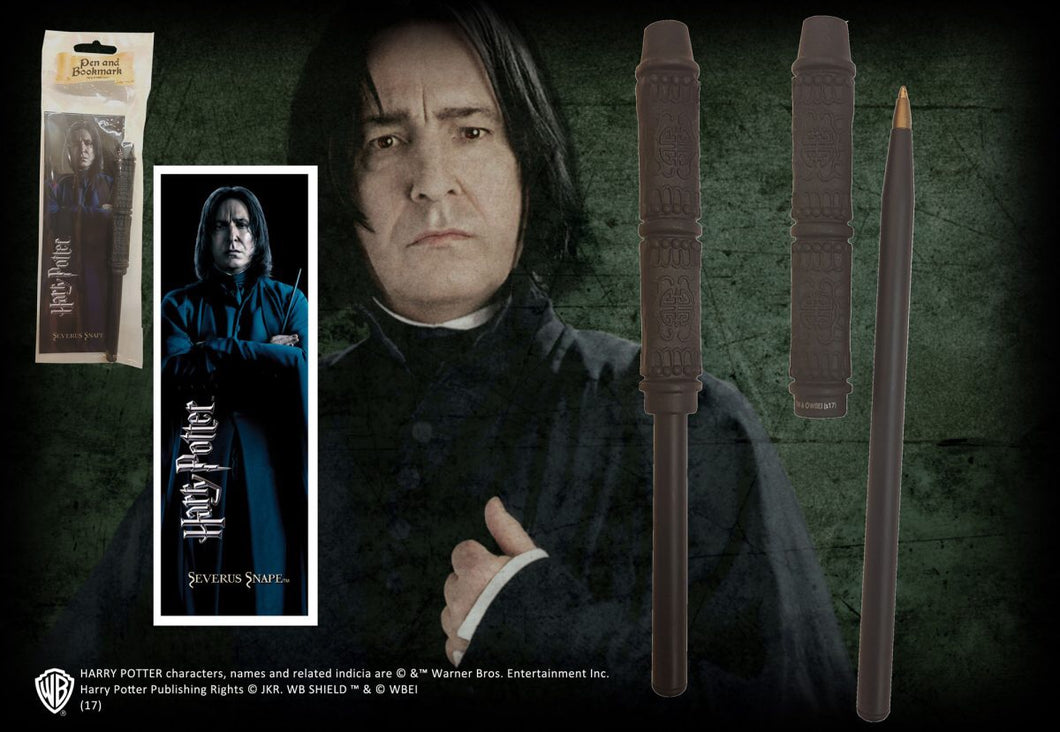 Severus Snape Wand Pen & Bookmark
