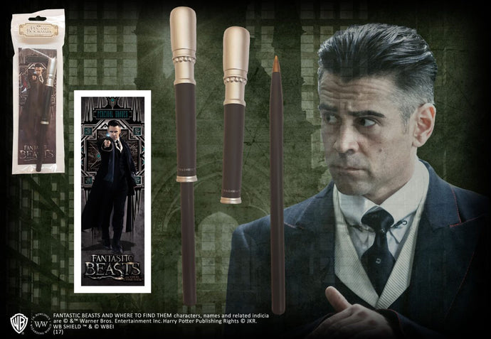 Percival Graves Wand Pen & Bookmark
