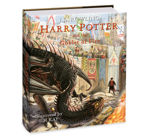 Harry Potter and the Goblet of Fire (Illustrated Ed)