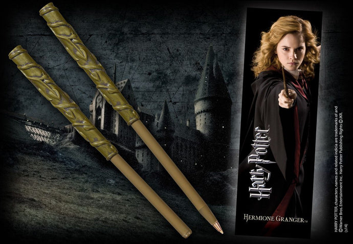 Hermione Granger Wand Pen & Bookmark