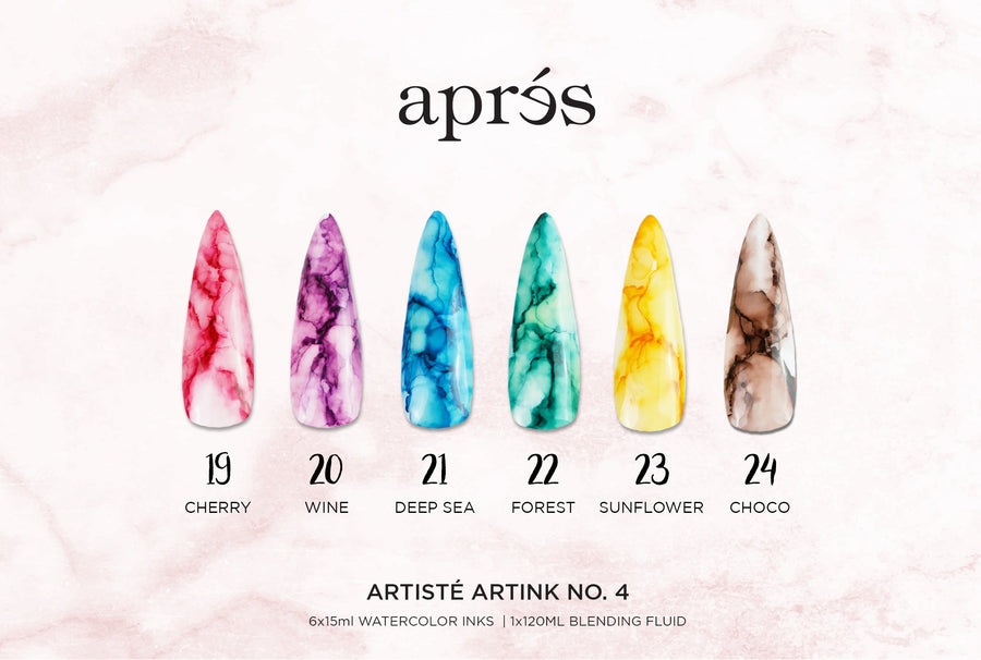 Artisté ArtInk Set No. 4