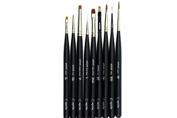 Artisté Gel Brush - Complete Set