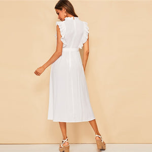 Almeria Dress / White - NEW ARRIVAL