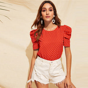 Toulouse Top / Red - NEW ARRIVAL
