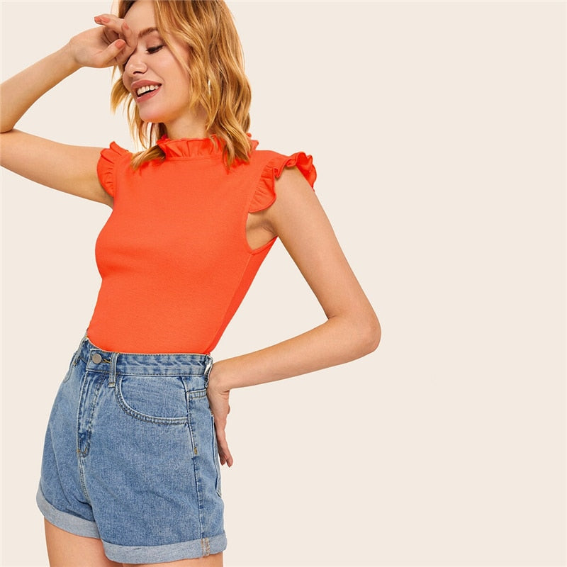 Verona Top / Orange - NEW ARRIVAL