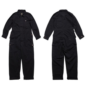 Multi-pocket Work Coverall Mens Safari Style! Cargo Coverall Jumpsuit Men Worker Uniform Overalls Long-sleeve Fashion Suit