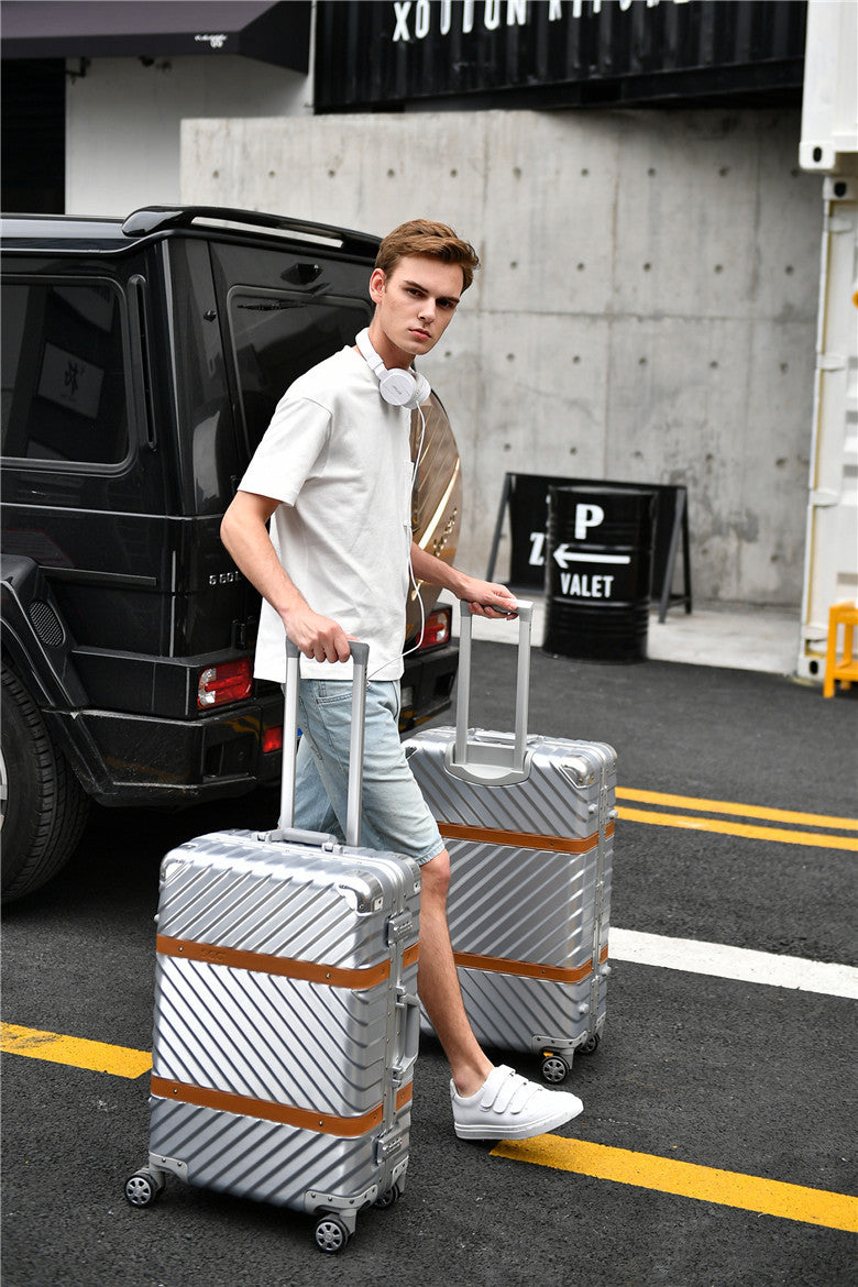 "Travel Aluminium Frame 29"" Suitcase (6 colors available)"
