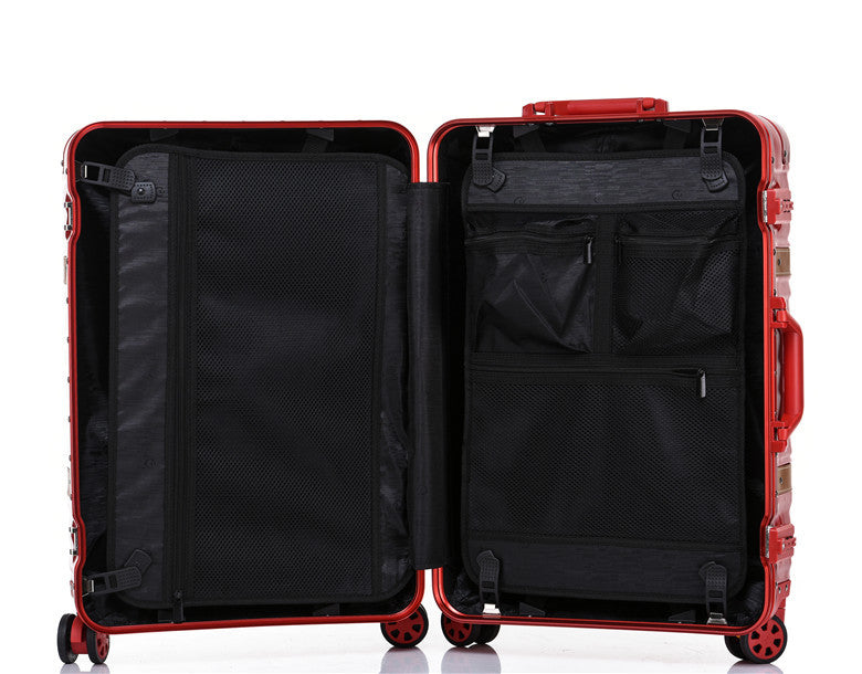 "Travel Aluminium Frame 26"" Suitcase (6 colors available)"