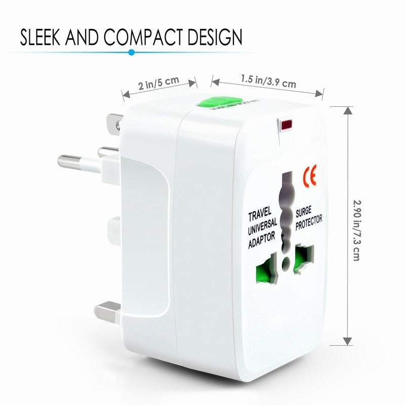 Wanderer Must-Have Worldwide Travel Adapter