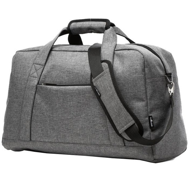 Gray Carry-on Overnight Duffle