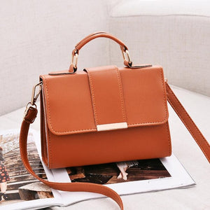 Compact Travel Handbag / Brown