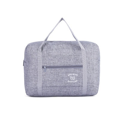 Lightweight Oxford Waterproof Duffle / Gray