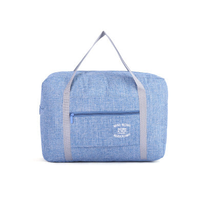 Lightweight Oxford Waterproof Duffle / Blue