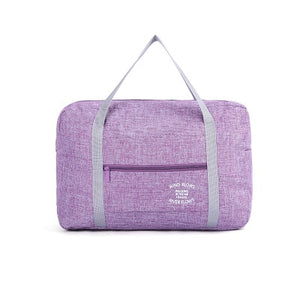 Lightweight Oxford Waterproof Duffle / Purple