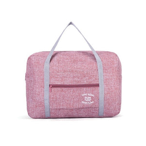 Lightweight Oxford Waterproof Duffle / Pink