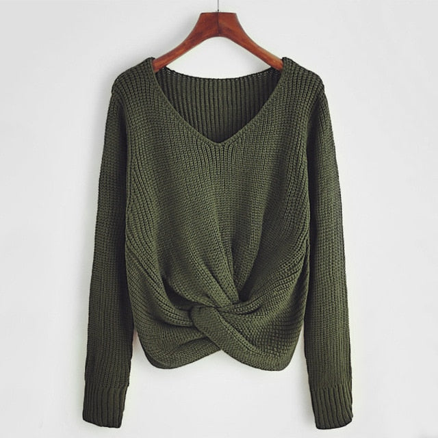 Ozark Knit Sweater / Green
