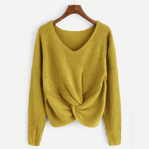 Ozark Knit Sweater / Yellow