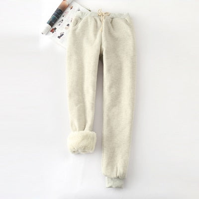 Alpine Fleecy Sweats / Beige