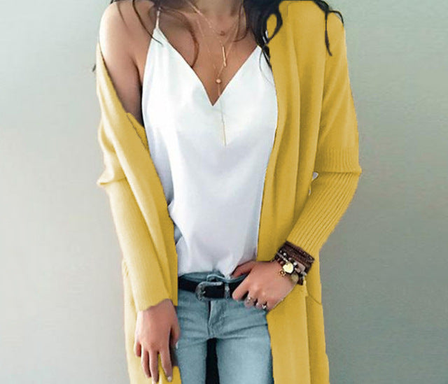 Andorra Cardigan / Yellow