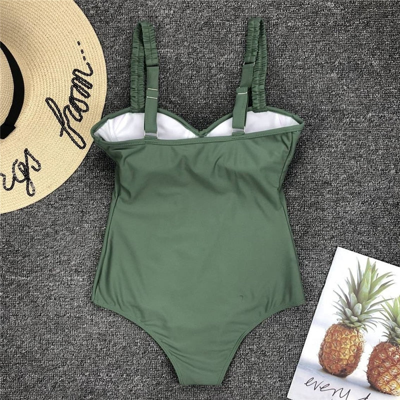 Song Saa Swim Suit / Green