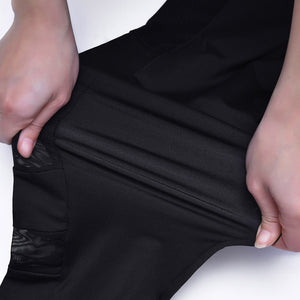 Breathable Pocket Leggings / Black