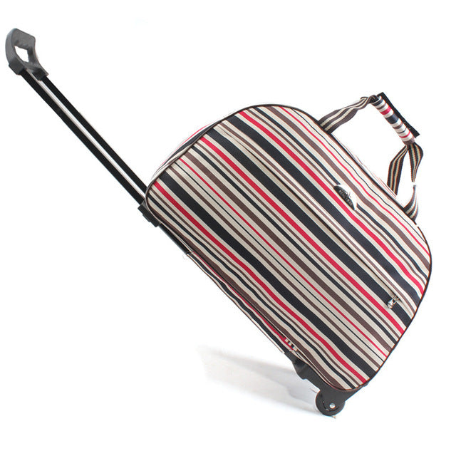 Travel Duffle Trolley / Stripe
