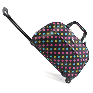 Travel Duffle Trolley / Polka Dot