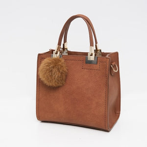 Wanderer Must-Have Leather Handbag / Khaki