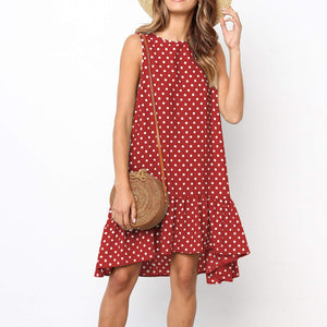 Malta Dress / Red