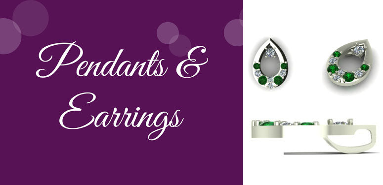Custom Design - Pendants & Earrings