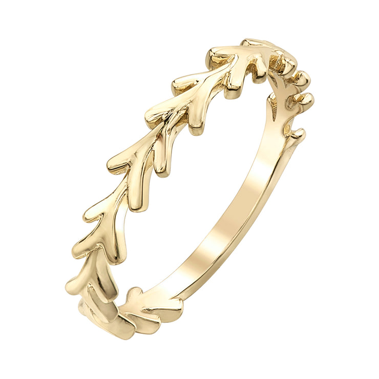 Rose Or Yellow Gold Band