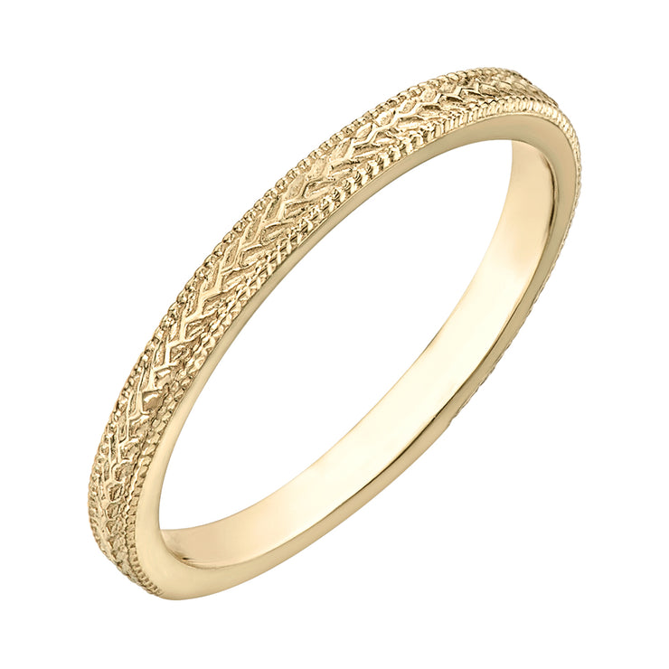 Yellow Gold Band
