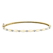 Yellow Rose Or White Gold Bracelet