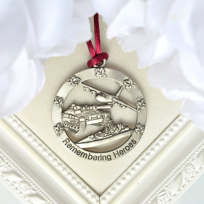 Remembering Heroes Ornament