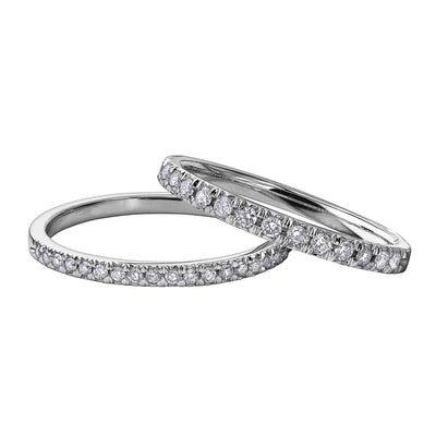 White Gold Diamond Bands