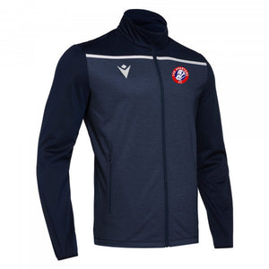 Child Gea Full Zip Training Top (Navy/White)