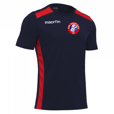 Child Sirius Training Top (Navy/Red)