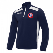 Child Tarim Training 1/4 Zip Top (Blue/White)