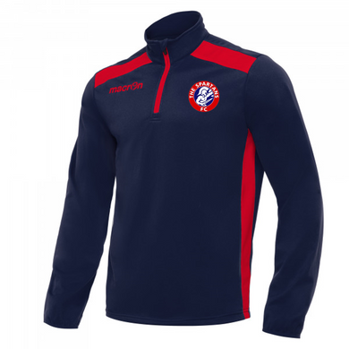 Child Tarim Training 1/4 Zip Top (Navy/Red)