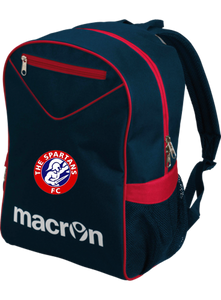 Slot Back Pack (Navy / Red) - Small