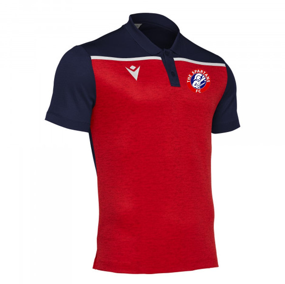 Adult Jumeirah Polo Shirt (Navy/Red)