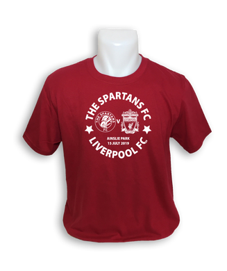LIMITED EDITION **Child Spartans v Liverpool T-Shirt**