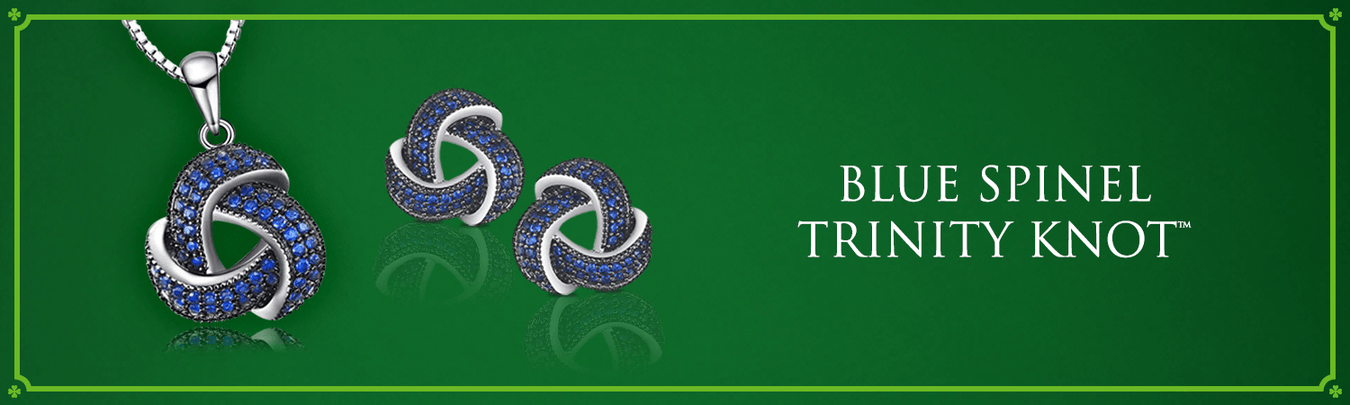 Blue Spinel Trinity Knot™ Collection
