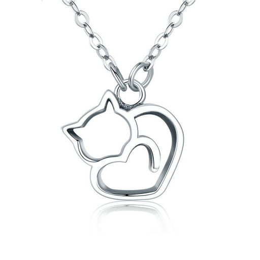 Purrfect Heart Pendant