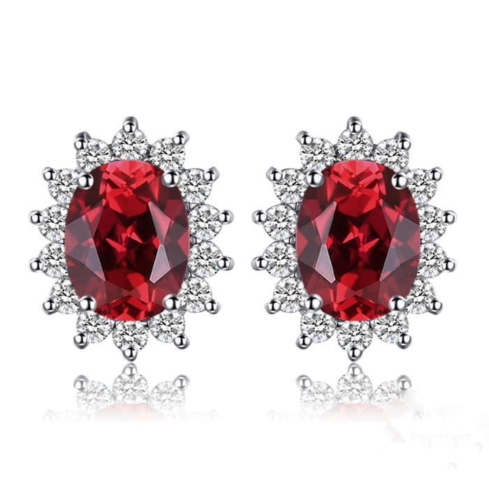 Lush of Grace™ Garnet Earrings